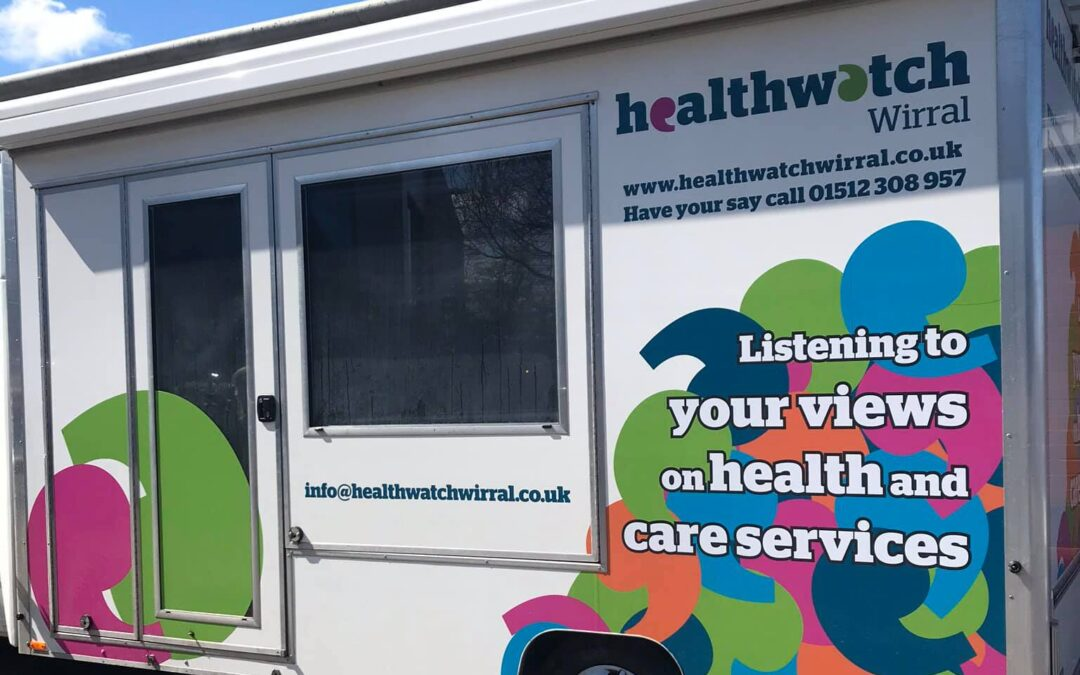 Healthwatch Wirral Roadshow and Mobile Testing Unit update