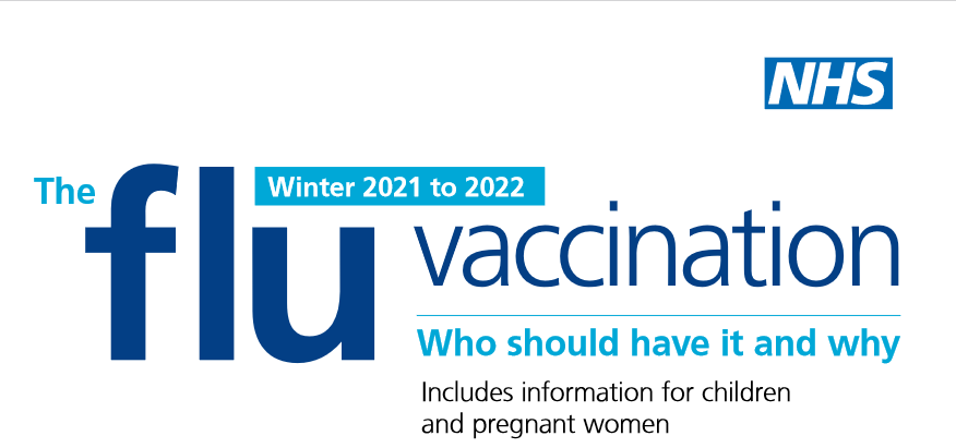 Flu vaccination information for winter 2021-22