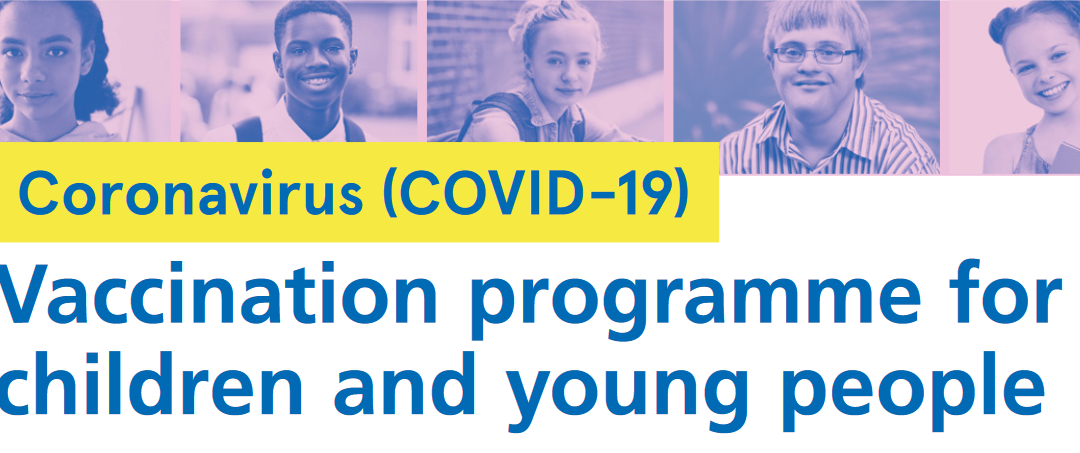 COVID-19 vaccination programme for 12-15 year-olds